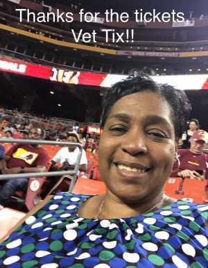 Tonya attended Washington Redskins vs. Cincinnati Bengals - NFL on Aug 15th 2019 via VetTix