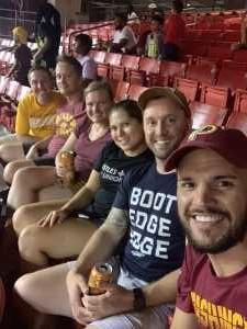 Nicholas attended Washington Redskins vs. Cincinnati Bengals - NFL on Aug 15th 2019 via VetTix