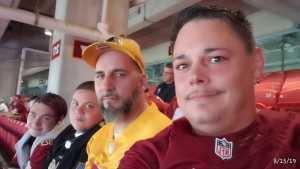 Nathan attended Washington Redskins vs. Cincinnati Bengals - NFL on Aug 15th 2019 via VetTix