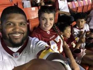 Jason attended Washington Redskins vs. Cincinnati Bengals - NFL on Aug 15th 2019 via VetTix