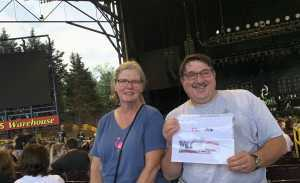 Peter attended Alice Cooper & Halestorm - Pop on Aug 13th 2019 via VetTix