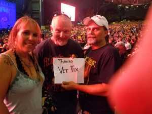 Timothy attended Alice Cooper & Halestorm - Pop on Aug 13th 2019 via VetTix
