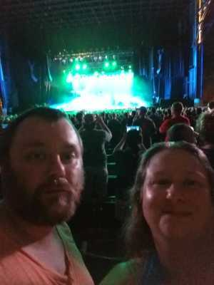 Chad attended Alice Cooper & Halestorm - Pop on Aug 13th 2019 via VetTix