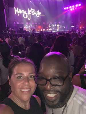 James attended Mary J. Blige & Nas - R&b on Aug 22nd 2019 via VetTix
