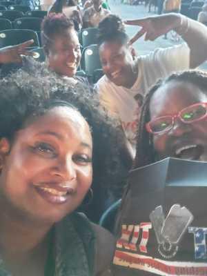 Pamela attended Mary J. Blige & Nas - R&b on Aug 22nd 2019 via VetTix