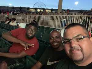 Carlos attended Mary J. Blige & Nas - R&b on Aug 22nd 2019 via VetTix