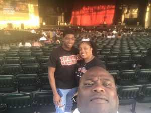 Calvin attended Mary J. Blige & Nas - R&b on Aug 22nd 2019 via VetTix