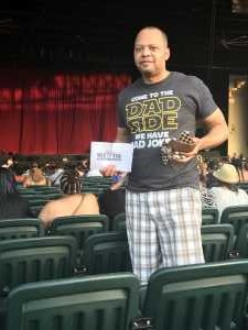 George attended Mary J. Blige & Nas - R&b on Aug 22nd 2019 via VetTix