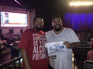 Albert attended Mary J. Blige & Nas - R&b on Aug 22nd 2019 via VetTix