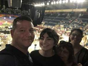 Harry attended Ringo Starr & His All-starr Band on Aug 13th 2019 via VetTix