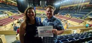 Jason and Angel Hawes attended Ringo Starr & His All-starr Band on Aug 13th 2019 via VetTix