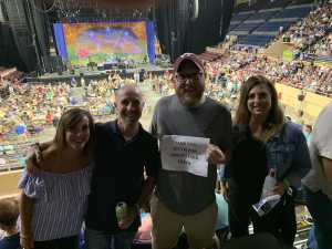 James attended Ringo Starr & His All-starr Band on Aug 13th 2019 via VetTix