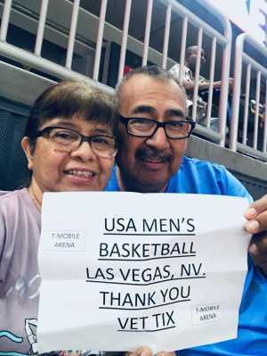 Andrew attended Blue vs. White - USA Men's Basketball Exhibition on Aug 9th 2019 via VetTix