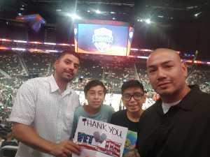 ruben attended Blue vs. White - USA Men's Basketball Exhibition on Aug 9th 2019 via VetTix