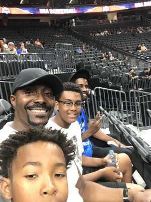 Aretha attended Blue vs. White - USA Men's Basketball Exhibition on Aug 9th 2019 via VetTix