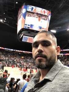 Michael attended Blue vs. White - USA Men's Basketball Exhibition on Aug 9th 2019 via VetTix