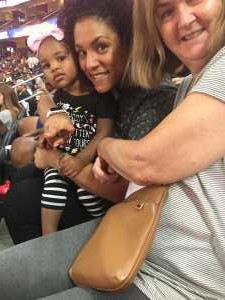 Clinton attended Blue vs. White - USA Men's Basketball Exhibition on Aug 9th 2019 via VetTix