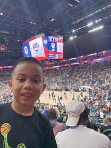 Czarina attended Blue vs. White - USA Men's Basketball Exhibition on Aug 9th 2019 via VetTix