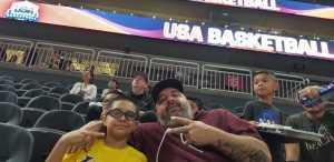 Charles attended Blue vs. White - USA Men's Basketball Exhibition on Aug 9th 2019 via VetTix