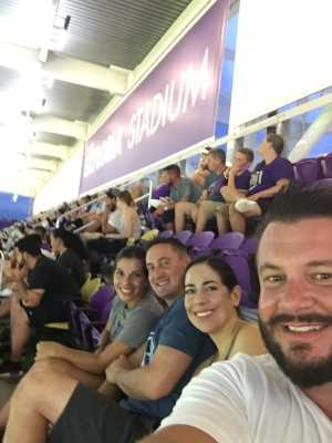 Daniel attended Orlando City SC vs. Sporting Kansas City - MLS on Aug 14th 2019 via VetTix