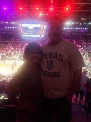 James attended Las Vegas Aces vs. Phoenix Mercury - WNBA on Aug 20th 2019 via VetTix