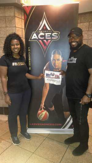 Click To Read More Feedback from Las Vegas Aces vs. Atlanta Dream - WNBA