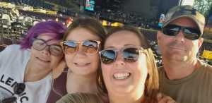Matthew attended Brad Paisley Tour 2019 - Country on Aug 10th 2019 via VetTix