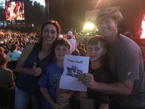 Dan attended Brad Paisley Tour 2019 - Country on Aug 10th 2019 via VetTix