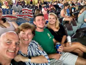 Ron attended Brad Paisley Tour 2019 - Country on Aug 10th 2019 via VetTix