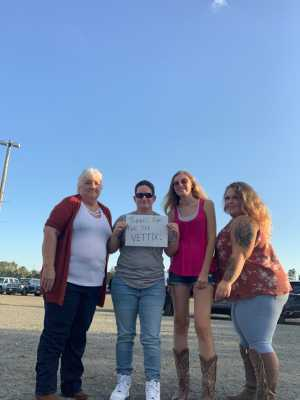 Wendy attended Brad Paisley Tour 2019 - Country on Aug 10th 2019 via VetTix
