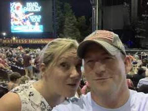 Justice attended Brad Paisley Tour 2019 - Country on Aug 10th 2019 via VetTix