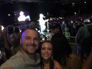 Kyle attended Brad Paisley Tour 2019 - Country on Aug 10th 2019 via VetTix