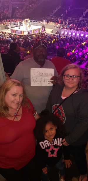 Dwight attended WWE Smackdown Live! - Denny Sanford PREMIER Center on Aug 20th 2019 via VetTix