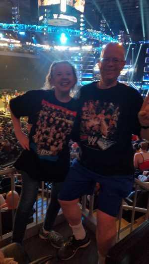 charles attended WWE Smackdown Live! - Denny Sanford PREMIER Center on Aug 20th 2019 via VetTix