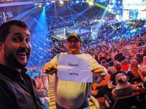 Steven attended WWE Smackdown Live! - Denny Sanford PREMIER Center on Aug 20th 2019 via VetTix