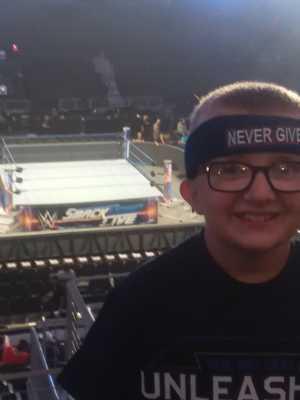 Justin attended WWE Smackdown Live! - Denny Sanford PREMIER Center on Aug 20th 2019 via VetTix