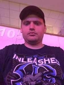 Nicholas attended WWE Smackdown Live! - Denny Sanford PREMIER Center on Aug 20th 2019 via VetTix