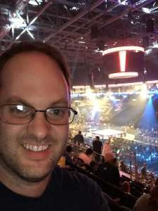Ryan attended WWE Smackdown Live! - Denny Sanford PREMIER Center on Aug 20th 2019 via VetTix