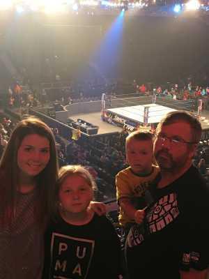 Gary attended WWE Smackdown Live! - Denny Sanford PREMIER Center on Aug 20th 2019 via VetTix
