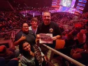 Thomas attended WWE Smackdown Live! - Denny Sanford PREMIER Center on Aug 20th 2019 via VetTix