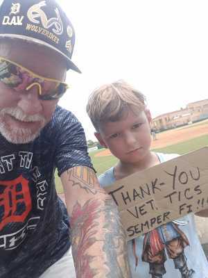 Dan attended Florida Fire Frogs vs. Lakeland Flying Tigers - MiLB on Aug 11th 2019 via VetTix
