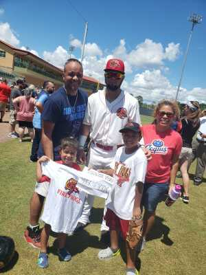 Click To Read More Feedback from Florida Fire Frogs vs. Dunedin Blue Jays - MiLB