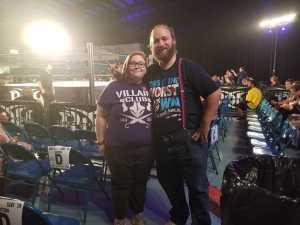 Ken attended Ring of Honor Wrestling on Sep 7th 2019 via VetTix