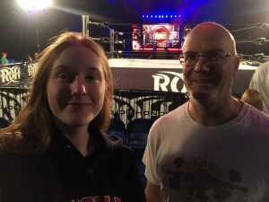 Michael attended Ring of Honor Wrestling on Sep 7th 2019 via VetTix