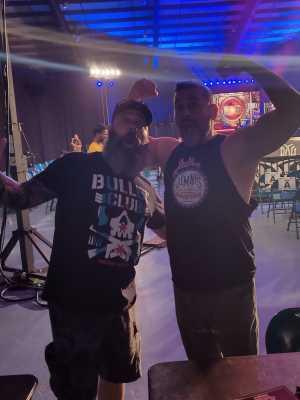 Bryan attended Ring of Honor Wrestling on Sep 7th 2019 via VetTix