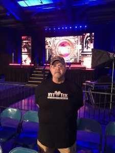 Mike attended Ring of Honor Wrestling on Sep 7th 2019 via VetTix