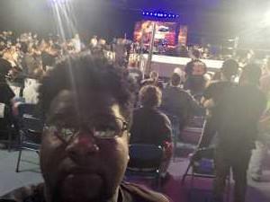 Donald attended Ring of Honor Wrestling on Sep 7th 2019 via VetTix