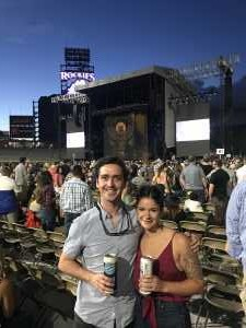 James attended Zac Brown Band: the Owl Tour - Country on Aug 9th 2019 via VetTix