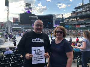 Brian attended Zac Brown Band: the Owl Tour - Country on Aug 9th 2019 via VetTix