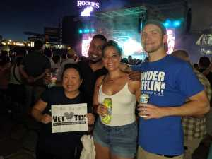 Kimberly attended Zac Brown Band: the Owl Tour - Country on Aug 9th 2019 via VetTix